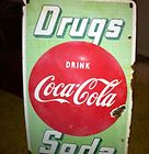 30x18 Drugs Drink Coca Cola Soda Sign