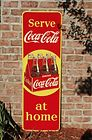 51' Serve Coca Cola at Home Sign