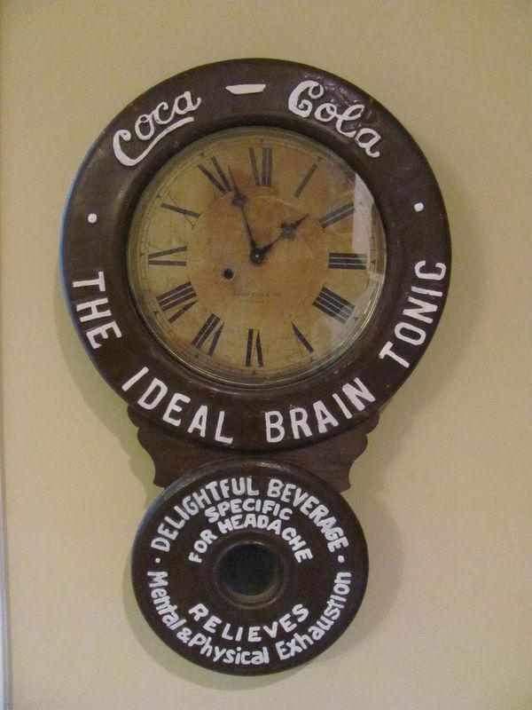 1890 S Baird Coca Cola Clock