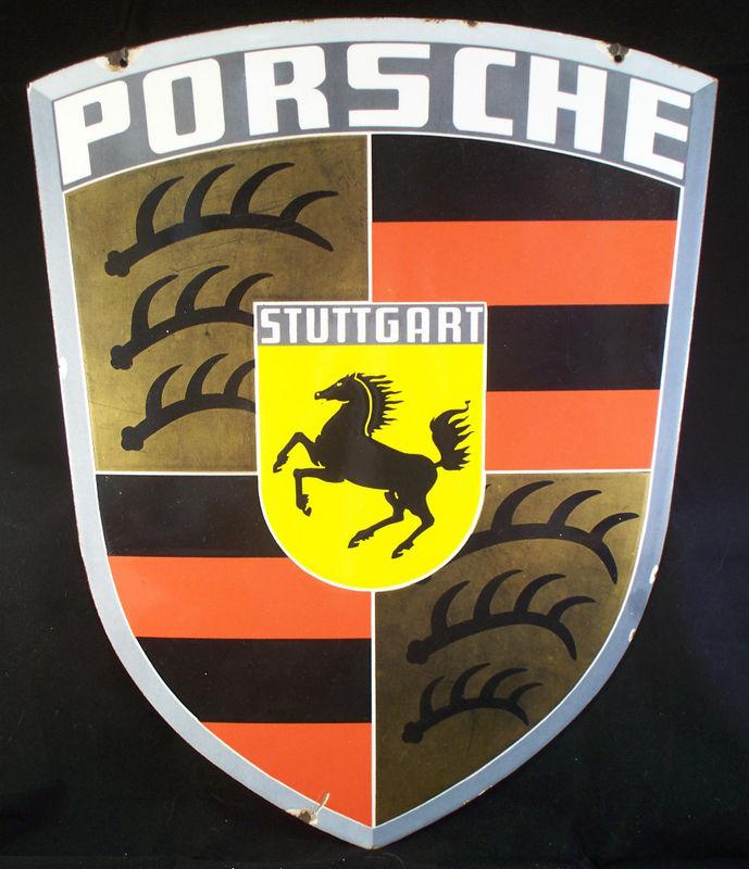 Porsche Vintage Sign