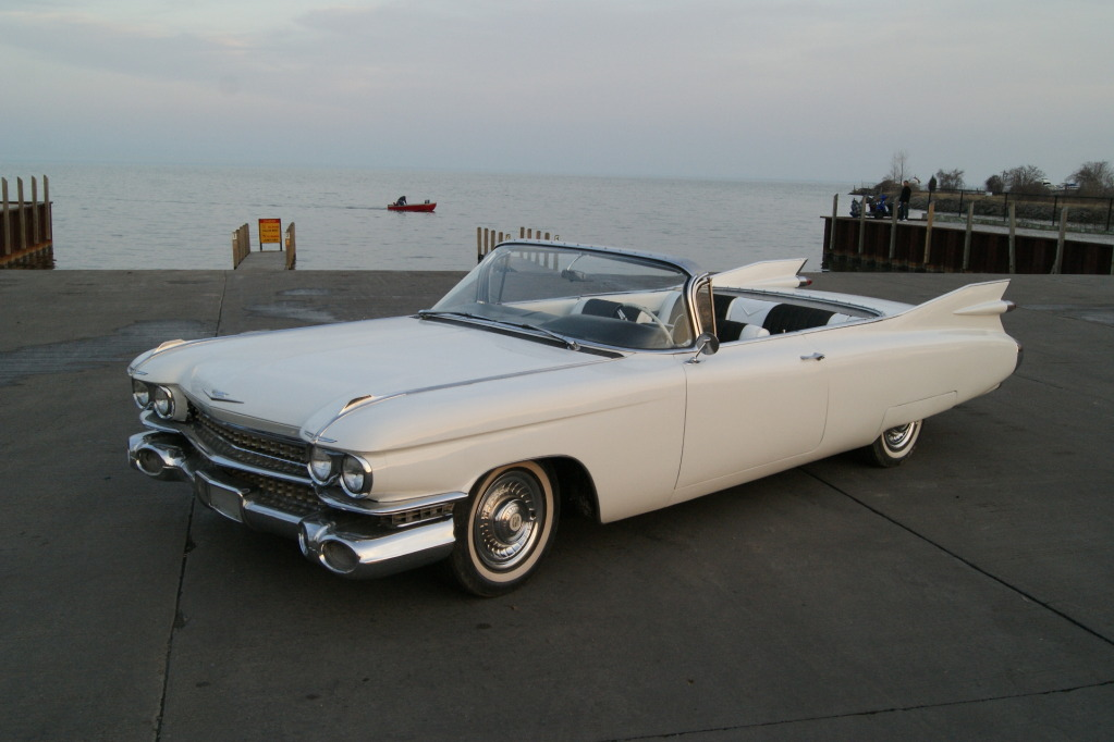 1959 Cadillac Deville Convertible Sells For 20 100 00