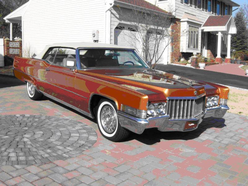 1970 Cadillac DeVille DEVILLE Sells for $22,222.22