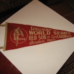 1946 WORLD SERIES RED SOX vs. ST. LOUIS CARDINALS Pennant