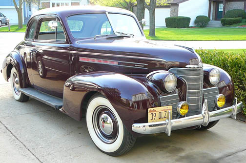1939 Oldsmobile Greatest Collectibles