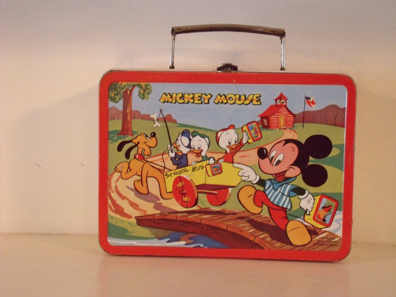 Mickey Mouse lunchbox & 1954 Mickey Mouse Lunch Box | Greatest Collectibles Aboutintivar.Com