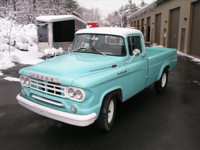 Item 1959 bluedodge d 100 pickup truck no rust great condition runs