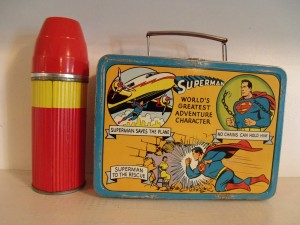 Image of the most expensive Super Man lunch box.