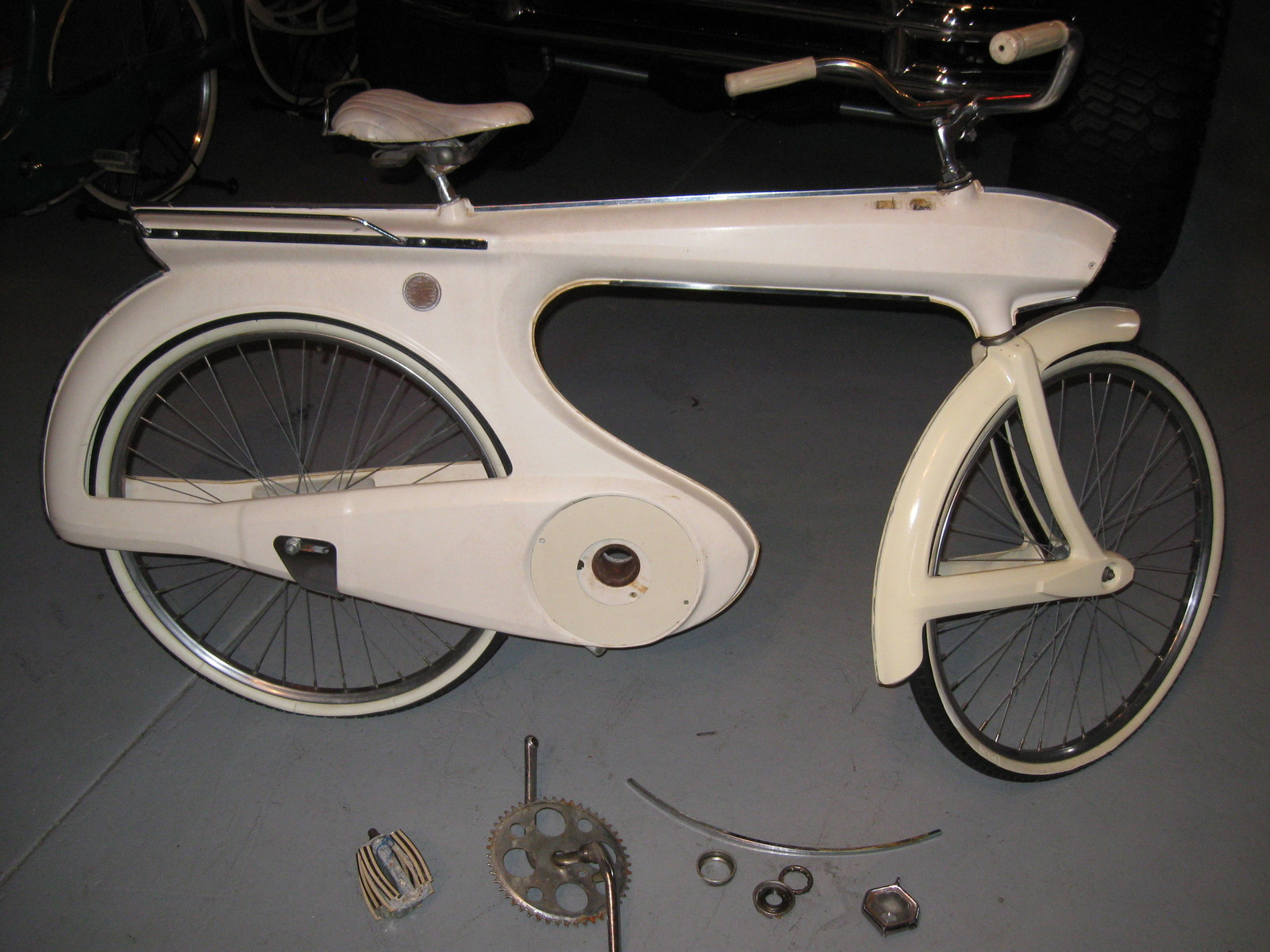 Bike 1964 Bowden 300 E Spacelander Space Bicycle Art Deco Rare