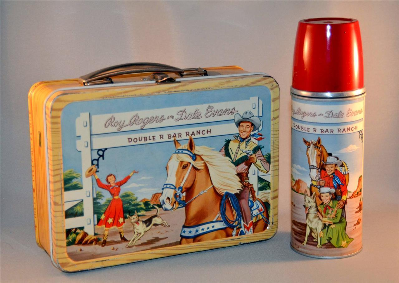 Image result for images of roy rogers lunchbox
