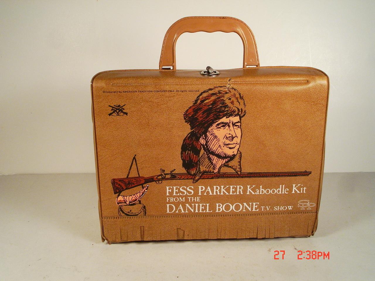 1960 S Vintage Rare Fess Parker Kaboodle Kit Vinyl