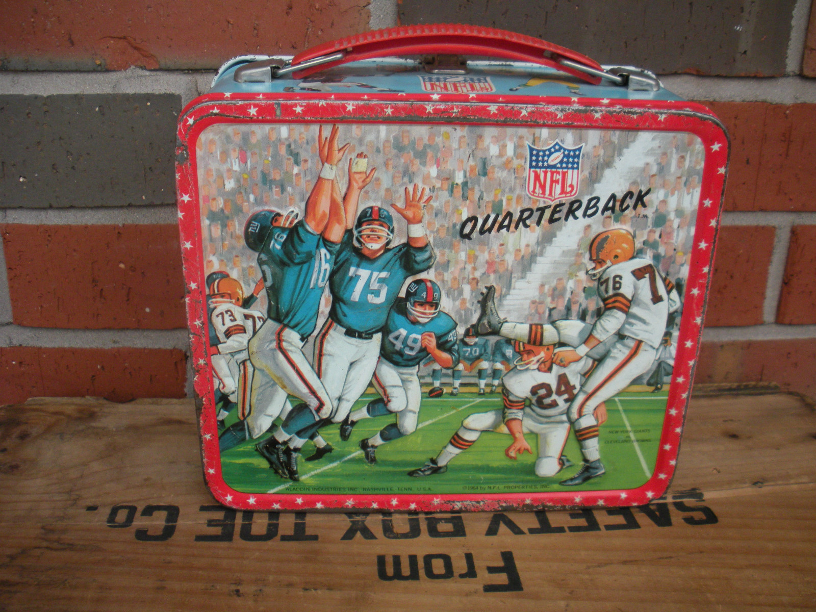 nfl lunch box nfl division