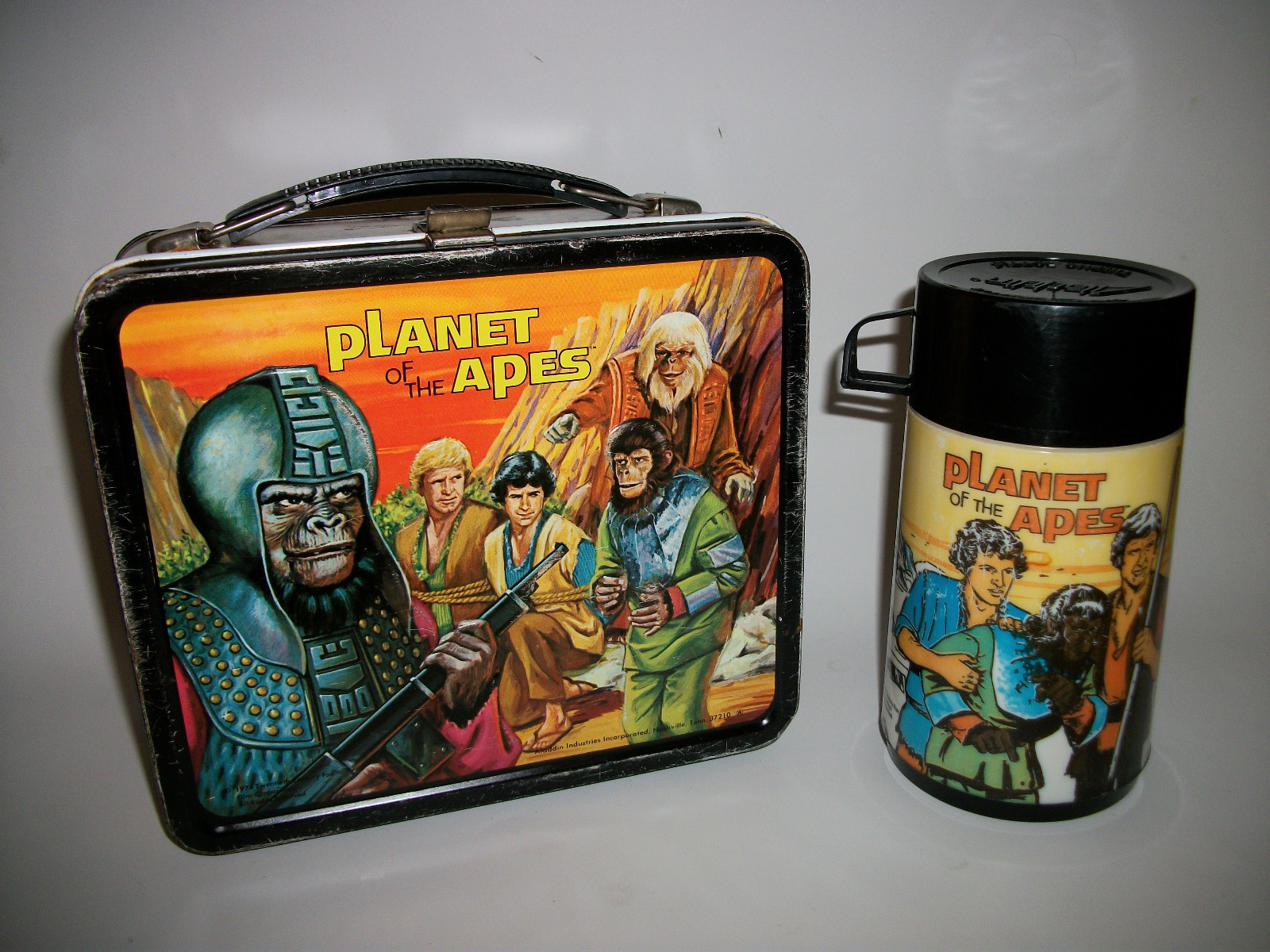 1974 Planet Of The Apes Lunch Box Greatest Collectibles