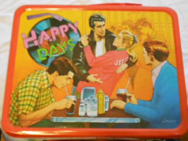 1976 Happy Days Vintage Lunchbox With Thermos New 36 Years