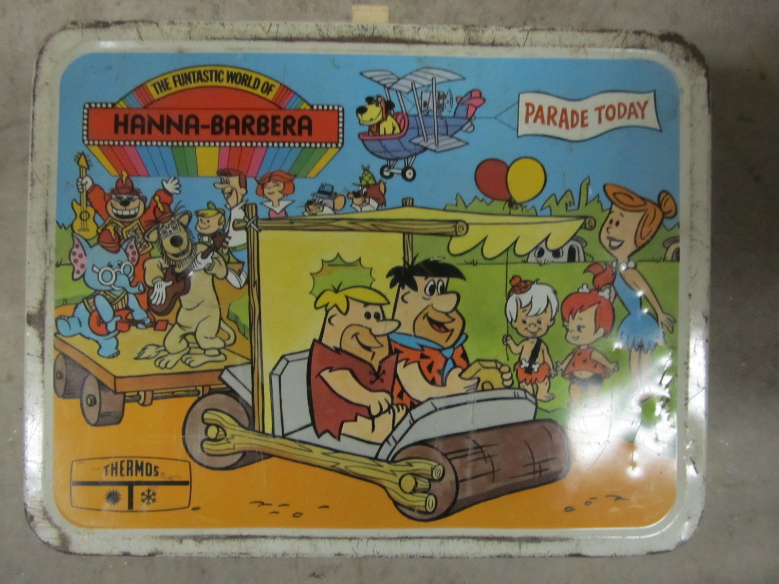 1977 flintstones lunch box greatest collectibles