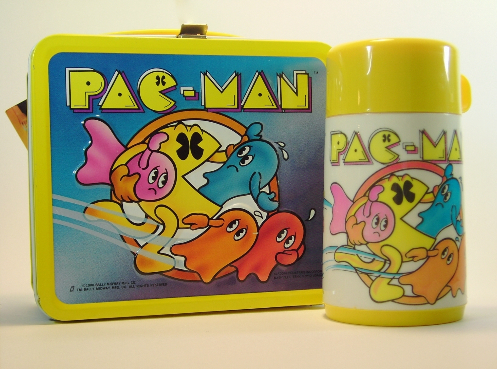 1980 Pac Man Lunch Box Greatest Collectibles