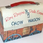 32.1 1955 Roy Rogers Dale Dome Lunchbox
