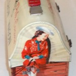 32.2 1955 Roy Rogers Dale Dome Lunchbox