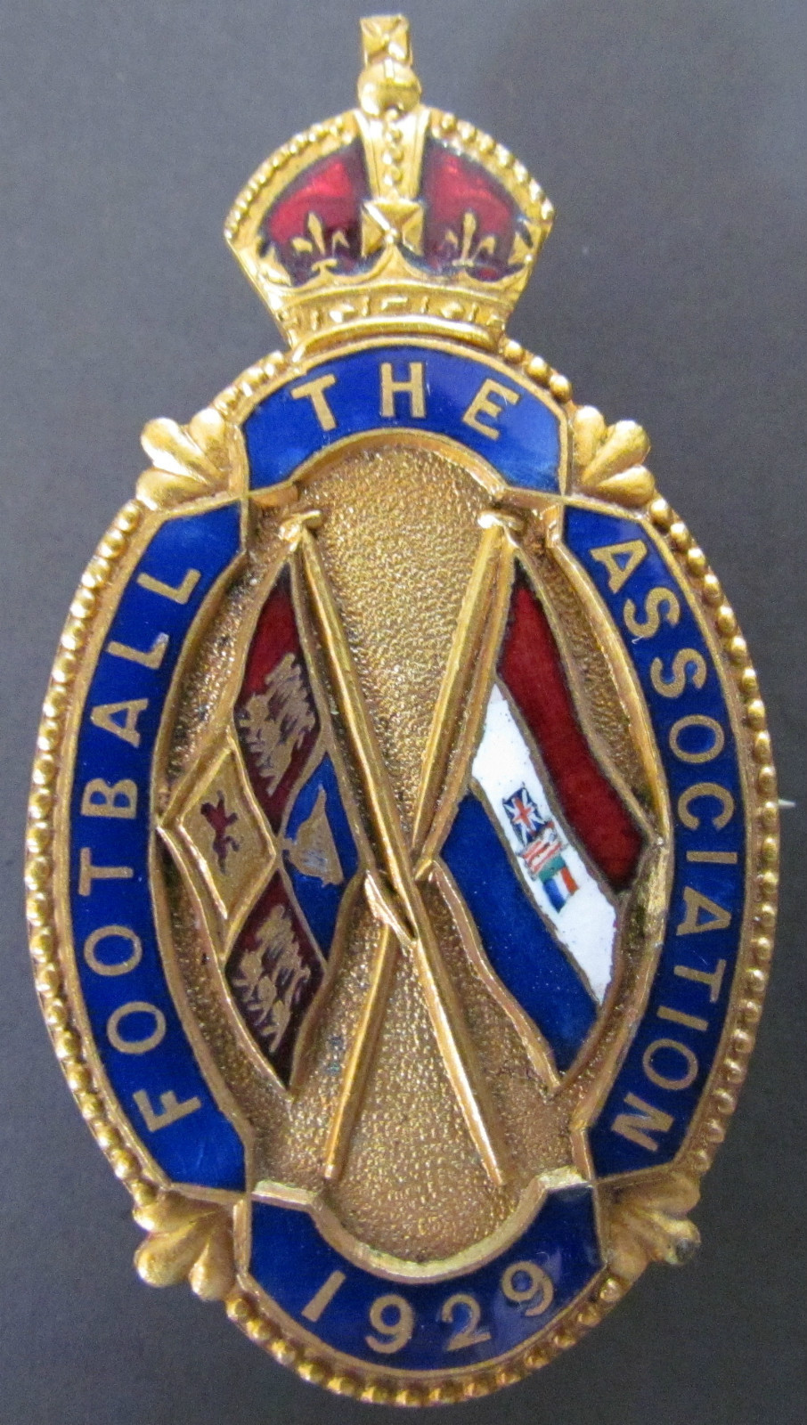 Rare Football Association Badge England South Africa