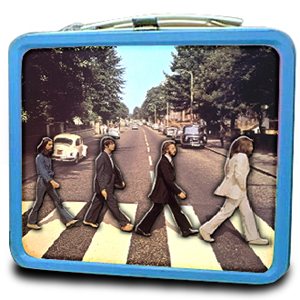1983 The Beatles Blue Lunchbox Greatest Collectibles