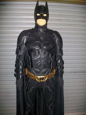Item: The Dark Knight Batman Film Grade Quality Adult Full Armour Cowl ...