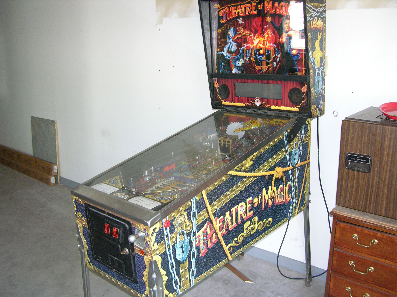 1995 Bally Theatre Pinball Greatest Collectibles