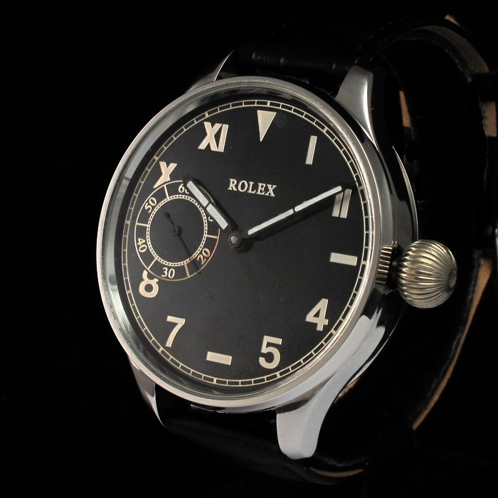 e15f6876f0d 1940 s Rolex Military Style Watch Cal.526