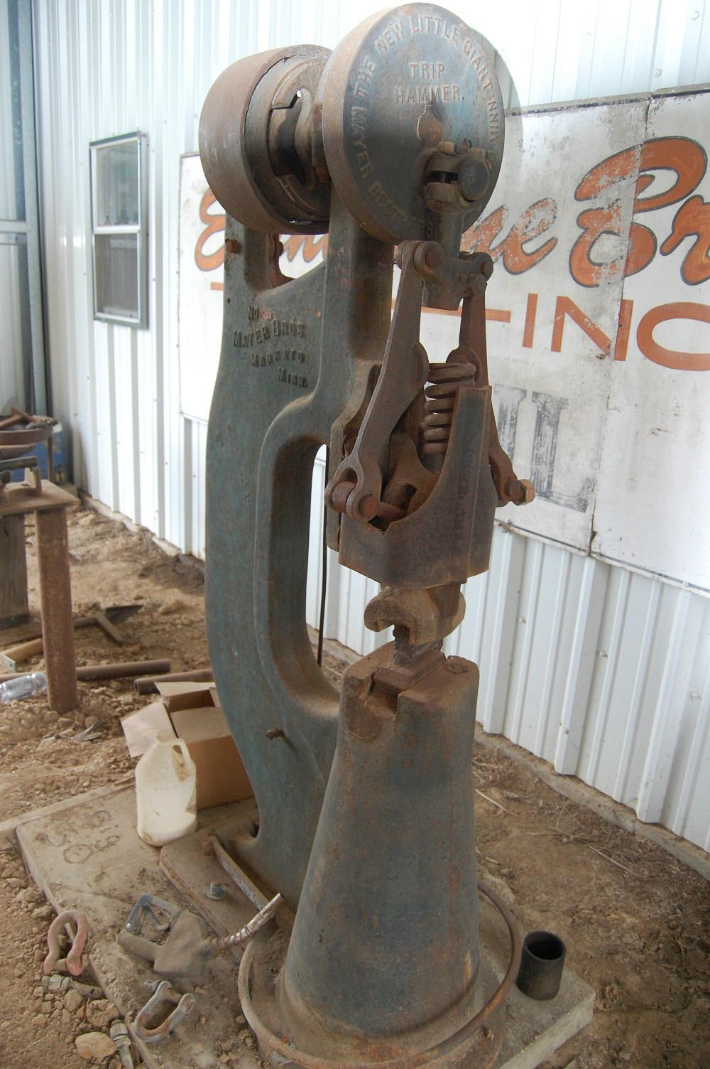 blacksmith power hammer for sale. item: little giant power hammer blacksmith for sale r