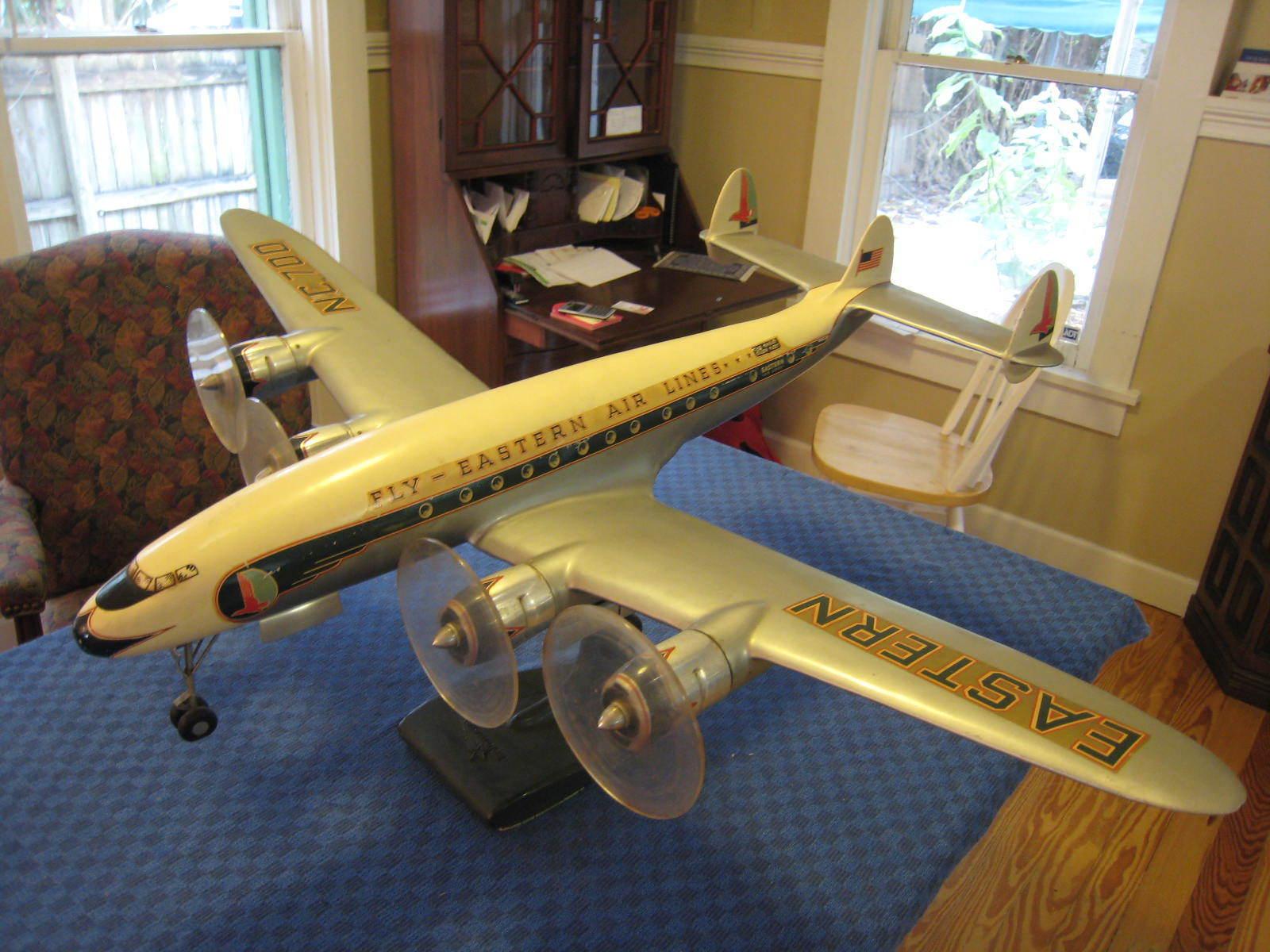 Item original eastern airlines lockheed factory model constellation