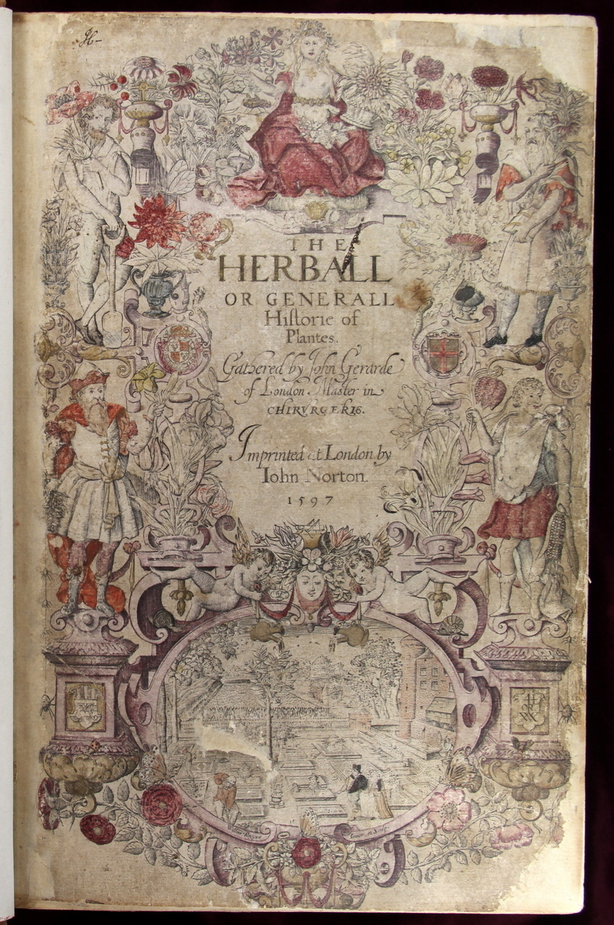 Item: Gerard Herball 1597 Historie Of Plantes 1st Ed Hand-Colored No Res  2145 Woodcuts Bids: 43. Date: Jun 18, 2012. Auction: Ebay