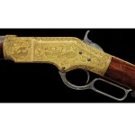 1866 Gold & Nickel Winchester Rifle $300,900