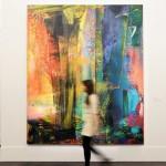 Abstraktes Bild Painting by Gerhard Richter $46.3 Milion