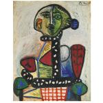 Femme Au Chignon Dans Un Fauteuil By Pablo Picasso Sells for $ 29,930,000