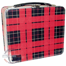 Modern Plaid Lunch Box
