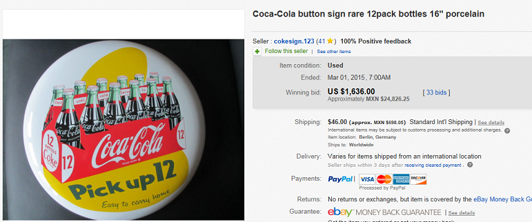 Coca Cola Button Signs