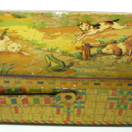 French Toleware Lunch Tin Box