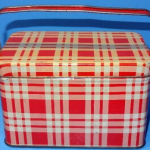 Childs Small Plaid Lunch Box