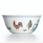 Doucai 'Chicken Cup' Mark and Period of Chenghua Sold for $36.3 Million