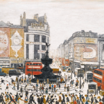 Piccadilly Circus, London by Laurence Stephen Lowry