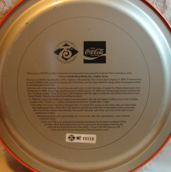 Your Antique Coca Cola Tray is Real or Fake