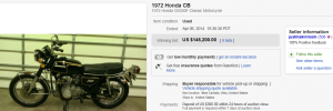 1972 Honda Motorcycle