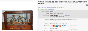 1. Top Coin Operated & PinBall Machine Sold for $7,900. on eBay