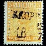 Schilling 1855 Stamp