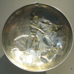 Oldest Known Silver Plate Showing Shapur II
