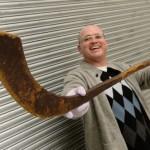 Oldest Known Hockey Stick