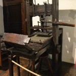 Oldest Known Printing Press