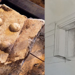 Discovered Marble Door Revealed in Greek Tomb