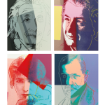 Ten Portraits of Jews of The Twentieth Century by Andy Warhol Fetches $200,000