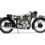 1939 Vincent-HRD 998cc Series-A Rapide Motorcycle Sold for $420,000