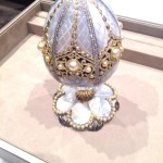 The first Imperial Fabergé Egg created in almost a century is unveiled at the DJWE