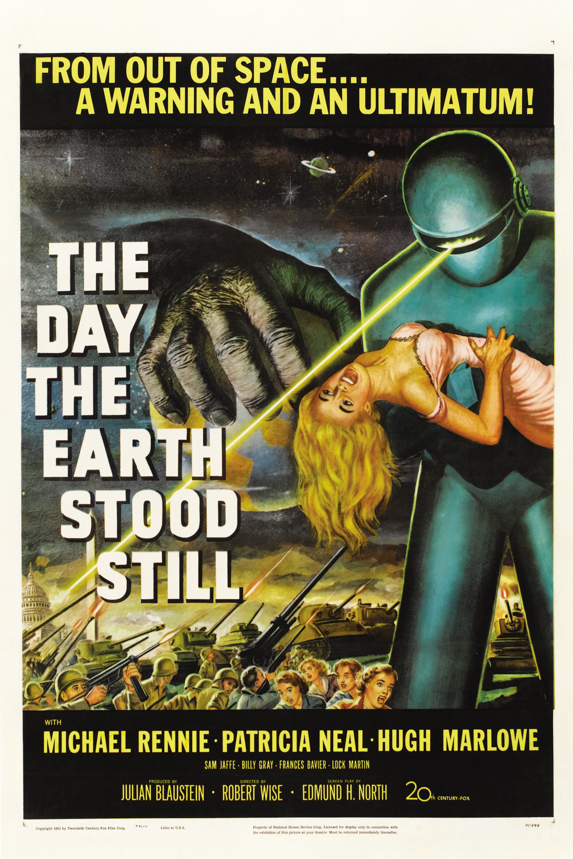 Classic Reviews: The Day the Earth Stood Still | The ... |The Day The Earth Stood Still 1951 Klaatu